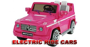 ELECTRIC  RIDE CARS