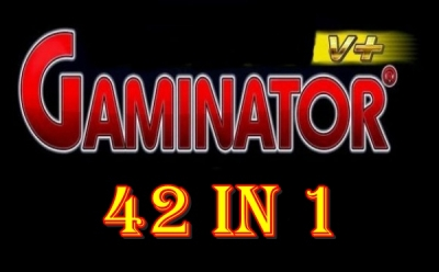 GAMINATOR 42 IN 1 GAMES