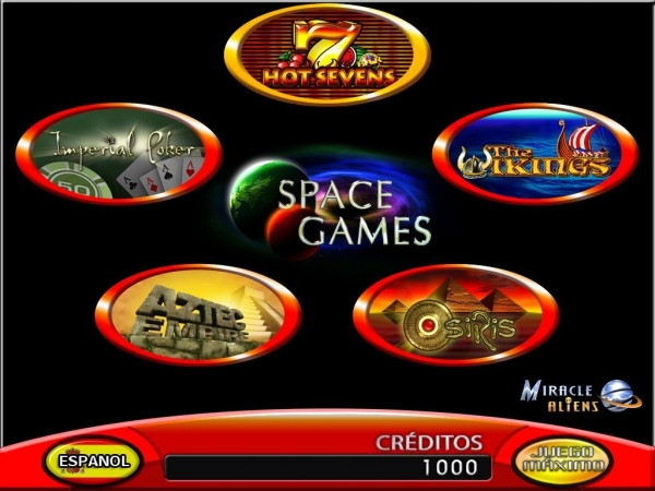 SPACE GAME 5 IN 1