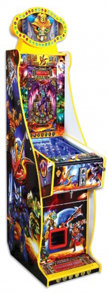 PINBALL  DEVIL  STEEL ( LUXURY )